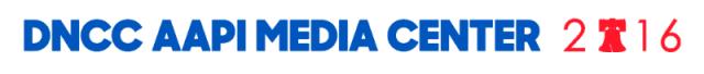 dnc aapi media center logo